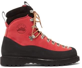 Diemme Everest Aqua Nubuck Hiking Boots - Mens - Red