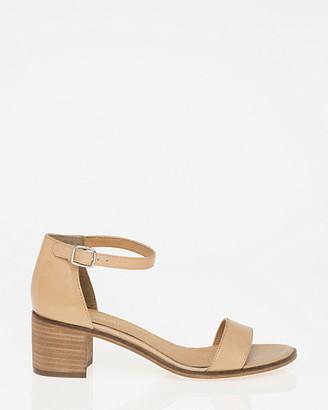 Le Château Leather Ankle Strap Sandal