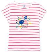 Petit Bateau Girl's Farie T-Shirt,pack of 4
