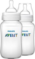 Avent Naturally BPA Free Classic + Polypropylene Bottle - 11 oz - 2 ct