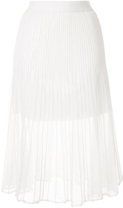 Izzue Layered Pleated Skirt