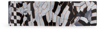 Valet Studio Delilah marble-effect hair clip