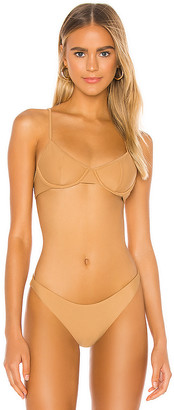 Amuse Society Kendal Demi Bikini Top