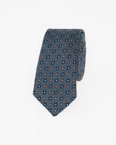 Le Château Italian-Made Silk Blend Skinny Tie