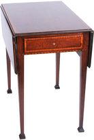 One Kings Lane Vintage Regency-Style Drop-Leaf Table