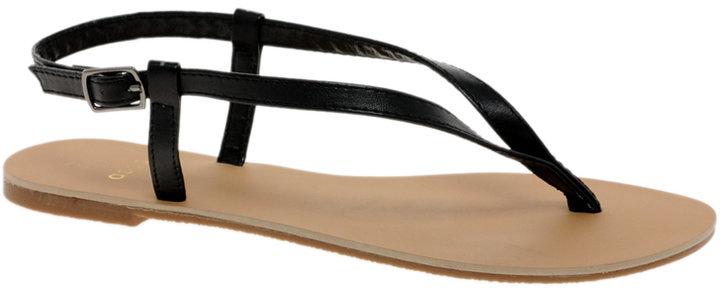 Asos FINSBURY Toe Thong Flat Sandals