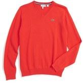 Lacoste Boy's Cotton & Wool Sweater