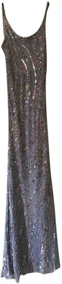 Jenny Packham Blue Glitter Dress for Women