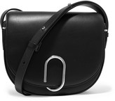 3.1 Phillip Lim Alix Saddle Leather Shoulder Bag - Black