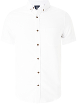 John Lewis Cotton Oxford Short Sleeve Shirt
