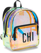 PINK Iridescent Mini Backpack