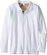 Burberry Mini PPM Long Sleeve Polo Boy's Short Sleeve Knit