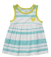 Carter's Baby Girls' Blue Striped Swing Tank