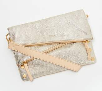 Hammitt Gold Leather Crossbody - Dillion
