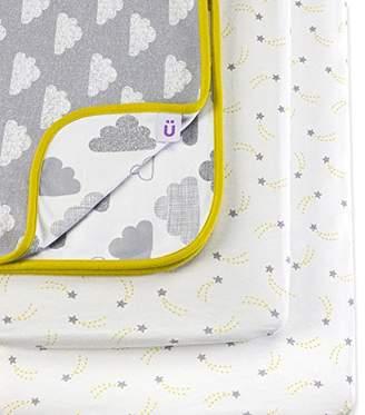 Cloud Nine Snuz 3pc. Bedside Crib Bedding Set