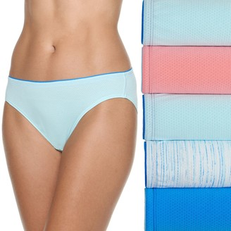 Fruit of the Loom Women's Signature 5-pack Breathable Micro Mesh Bikini Panties 5DBKBIK