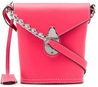 Calvin Klein mini Lock bucket bag