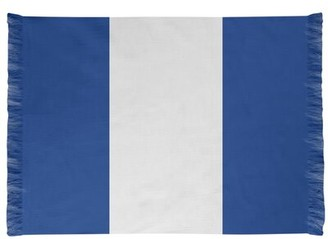 Blue Area NHS National Hockey Stripes Royal Rug East Urban Home Non-Skid Pad: Yes