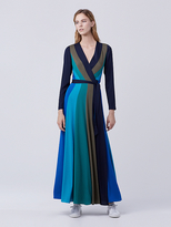 Diane von Furstenberg Penelope Maxi Wrap Dress