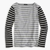 J.Crew Waffle T-shirt in stripe combo