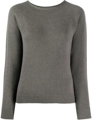 Lamberto Losani Long-Sleeve Knit Jumper