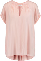 Velvet by Graham & Spencer Pleated voile top