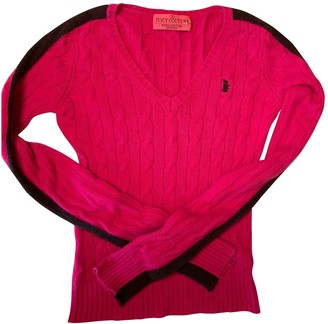Juicy Couture Pink Cashmere Knitwear for Women