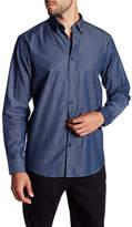 Ben Sherman Long Sleeve Print Woven Regular Fit Shirt