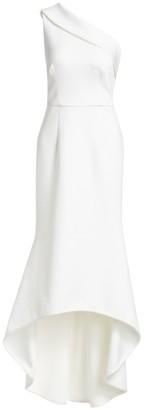 Black Halo Cadencia One Shoulder Gown