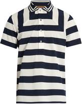 Paul Smith Striped cotton-piqué polo shirt