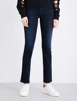 Diesel Sandy slim-fit straight mid-rise jeans