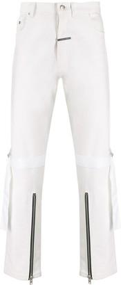 Zilver Knee Strap Denim Jeans