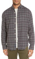 Grayers Men's Darenth Regular Fit Plaid Double Woven Sport Shirt