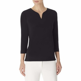 Anne Klein Women's 3/4 Sleeve Tunic TOP
