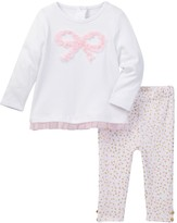 Kate Spade bow top & legging set (Baby Girls)