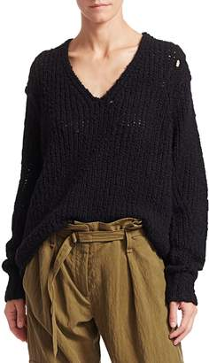 Rag & Bone Arizona V-Neck Wool Sweater