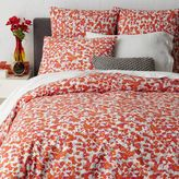 west elm Camo Floral Duvet Cover - King