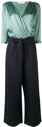 Societe Anonyme wrap front blouse