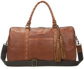 Patricia Nash Woven Collection Milano Tasseled Weekender