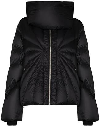 Moncler + Rick Owens Tonopah zip-up puffer jacket