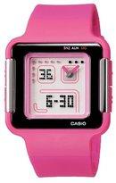 Casio Women's LCF20-4 Ana-Digi Retro Square Sports Watch