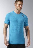 Reebok Crossfit Burnout Sports Shirt Wild Blue