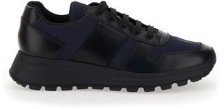 Prada Paneled Low-Top Sneakers