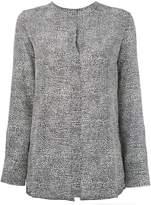 Marni spotted longsleeve blouse