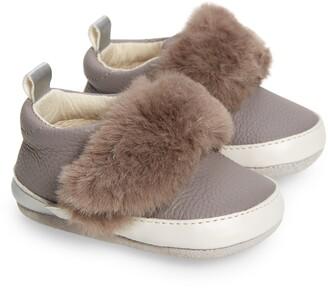 Robeez Paloma Faux Fur Sneaker
