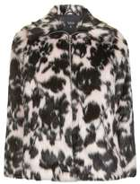 Topshop Sweet dreams faux fur coat