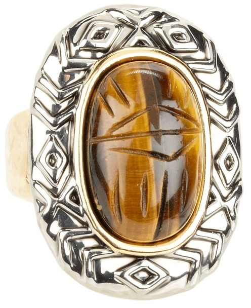 House Of Harlow Khepri Ring (Gold And Silver) - Jewelry