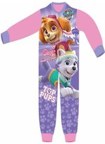 Girls Skye Everest Print Micro Fleece Onesies Pajamas Age 2 to 6 Years