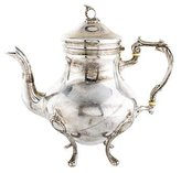 Sterling Footed Teapot