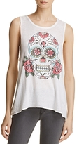Chaser Flounce Skull Muscle Tank